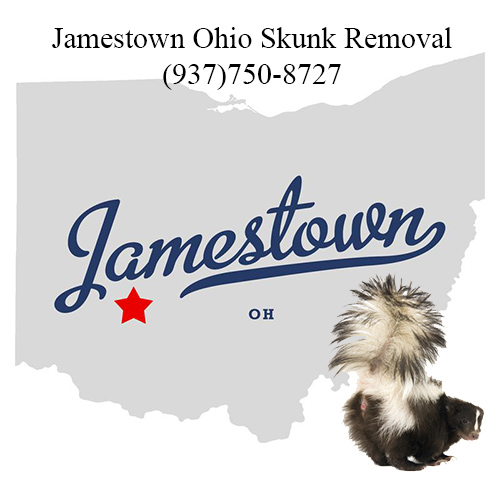 jamestown ohio skunk removal